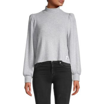 Топ с объемными рукавами Calvin Klein Jeans