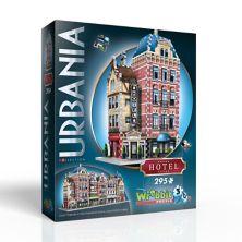 Wrebbit - Urbania Collection Hotel - 3D-пазл из 295 частей Wrebbit