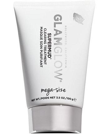Очищающая лечебная маска Supermud, 3,5 унции. GLAMGLOW