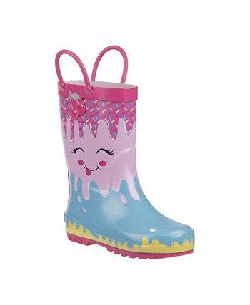 Резиновые сапоги для маленьких девочек Laura Ashley