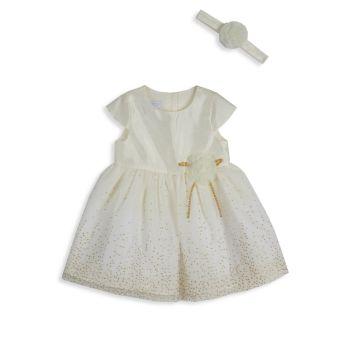 Платье-пачка для маленьких девочек и платье-пачка; Набор повязок на голову Pippa & Julie