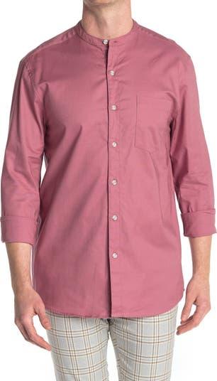 Оксфордская тканая рубашка Mesa Rose TOPMAN