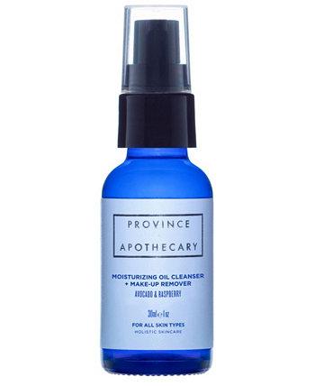 Увлажняющее очищающее масло и средство для снятия макияжа, 1 унция Province Apothecary