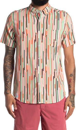 Рубашка обычного кроя в полоску Bermies