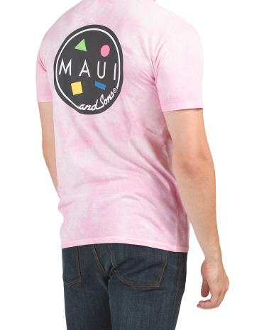 Футболка с логотипом Tie Dye Cookie с графическим принтом Maui and Sons