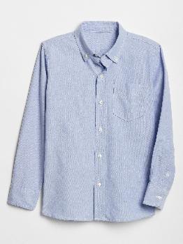 Детская рубашка-оксфорд Gap Factory