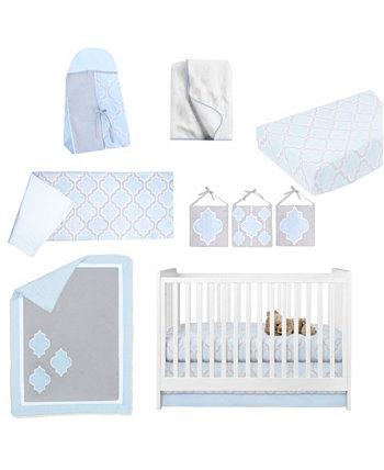 Комплект постельного белья для детской кроватки Medallion из 10 предметов Pam Grace Creations