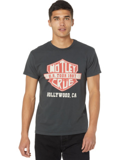 Винтажная футболка Black Label Premium Motley Crue The Original Retro Brand