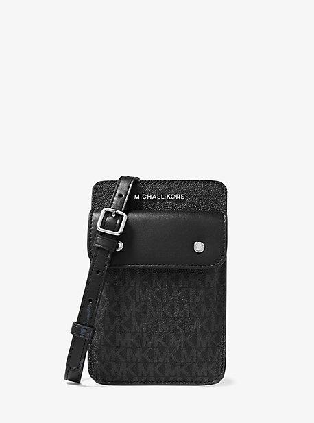 Сумка через плечо для смартфона с логотипом Michael Kors