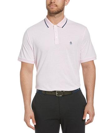 Мужская рубашка-поло с окантовкой Birdseye Original Penguin
