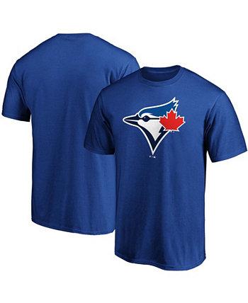 Мужская футболка с официальным логотипом Royal Toronto Blue Jays Fanatics