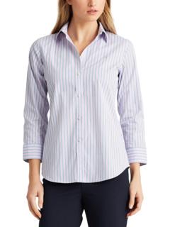 Рубашка из хлопка в полоску, не требующая особого ухода Ralph Lauren