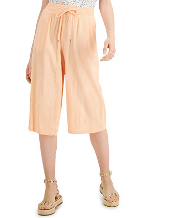 Petite Cropped Soft Pull-On Pants, Created for Macy's Style & Co