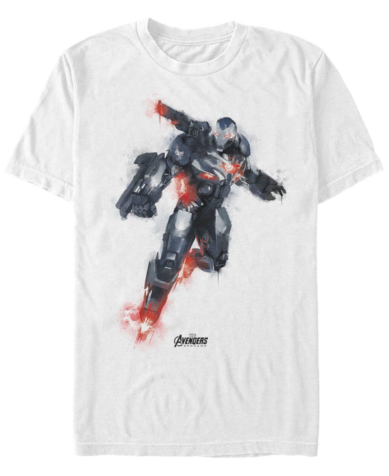 Мужская футболка с короткими рукавами для мстителей Marvel
