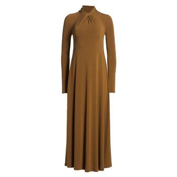 Макси-платье Highneck LVIR