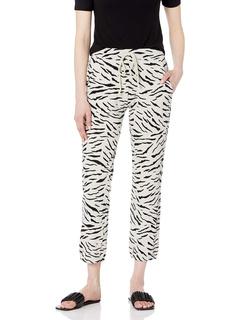 Sang Zebra Fleece Sweatpants Velvet by Graham & Spencer