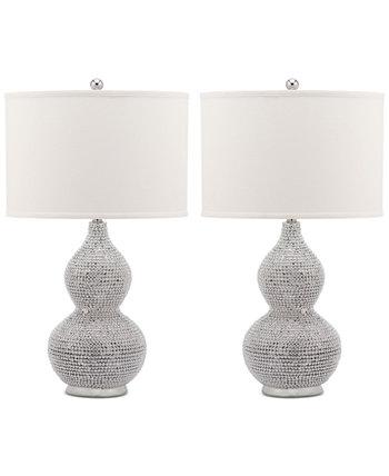 Набор из 2 настольных ламп Nicole Bead Safavieh
