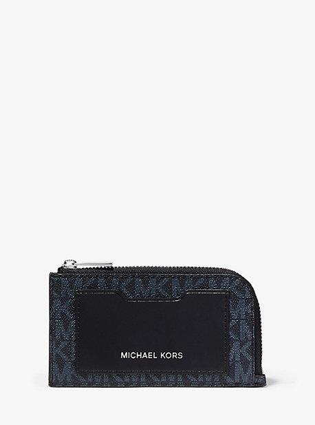 Кошелек с логотипом на молнии Michael Kors