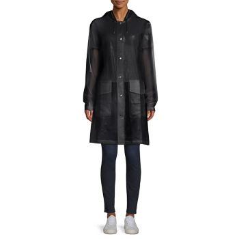 LTD Mirage Capsule полупрозрачное пальто с капюшоном Rains