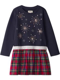 Веселое платье с эластичной резинкой на талии в клетку (для малышей / маленьких детей / детей старшего возраста) Hatley Kids