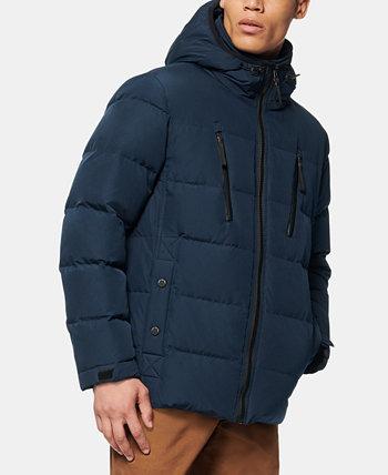 Мужская куртка-пуховик с пуховым наполнителем Montrose средней длины Marc New York by Andrew Marc
