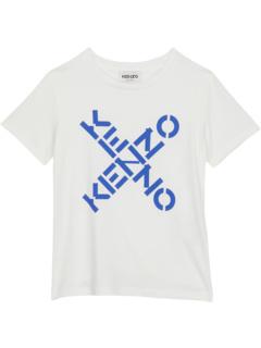 Cross Logo T-Shirt (Toddler) Kenzo Kids