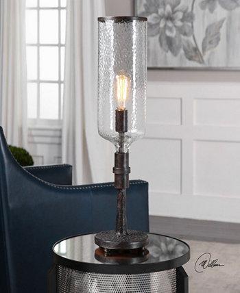 Старая промышленная акцентная лампа Hadley Uttermost