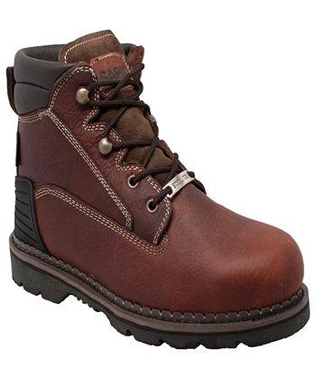 Мужские рабочие ботинки со стальным носком 6 дюймов AdTec