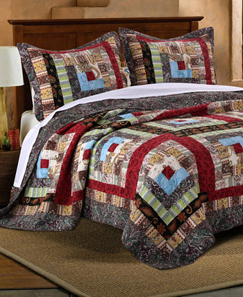 Комплект стеганого одеяла Colorado Lodge, двухкомпонентный твин Greenland Home Fashions