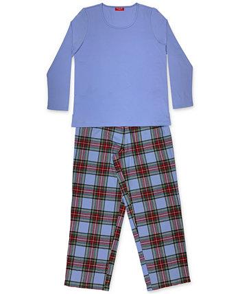 Подходящий женский семейный пижамный комплект Mix It Tartan, созданный для Macy's Family Pajamas