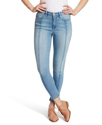 Женские джинсы скинни до щиколотки с высокой посадкой Ella Moss