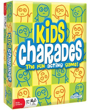 Kids Charades - творческая классическая вечеринка для маленьких детей Outset Media