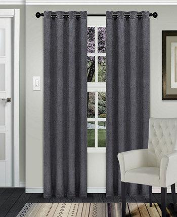 """Текстурированные плотные шторы Waverly, набор из 2 шт., 58 """"x 108"""" Superior"""