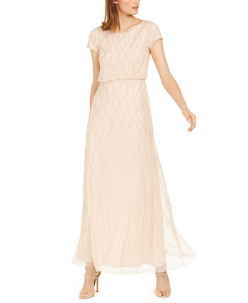 Платье с маленькими украшениями Adrianna Papell
