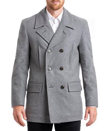 Мужское классическое двубортное пальто CHAPS