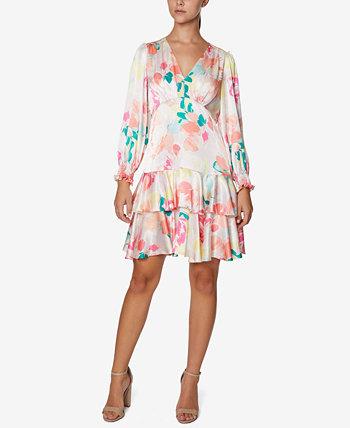 Многоуровневое платье прямого кроя Laundry by Shelli Segal