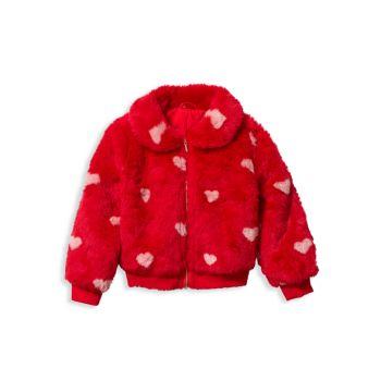 Baby Girl's, Little Girl's & amp; amp; Брюки-свитера Girl's Heart Fair Isle Janie and Jack