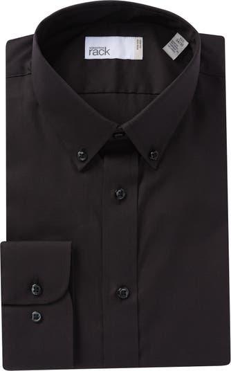 Классическая рубашка с однотонной отделкой Nordstrom Rack