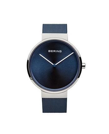 Мужские классические часы из нержавеющей стали Bering