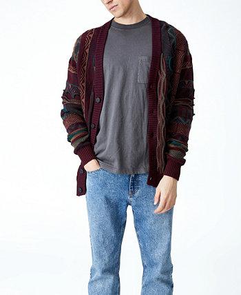 Мужской вязаный кардиган в винтажном стиле COTTON ON
