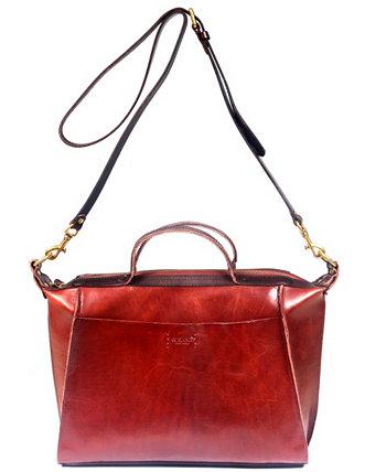 Кожаная сумка-саквояж Gypsy Soul Old Trend