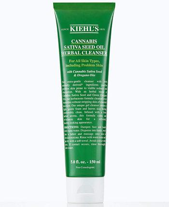 Травяное очищающее средство с маслом семян сативы каннабиса, 5 унций. Kiehl's Since 1851