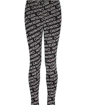 Big Girls Performance Exploded Logo Legging Calvin Klein
