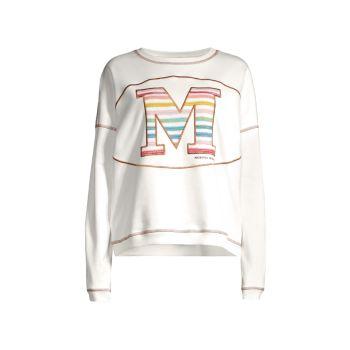 Толстовка в полоску с логотипом M Missoni