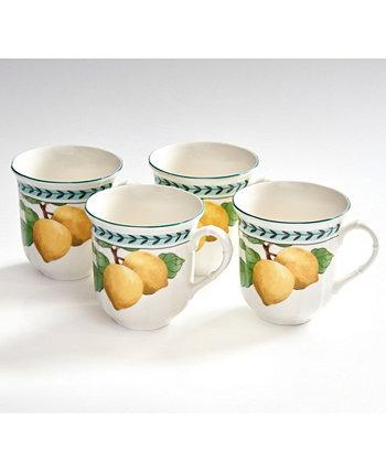Набор кружек French Garden Modern Lemons Jumbo из 4 шт. Villeroy & Boch