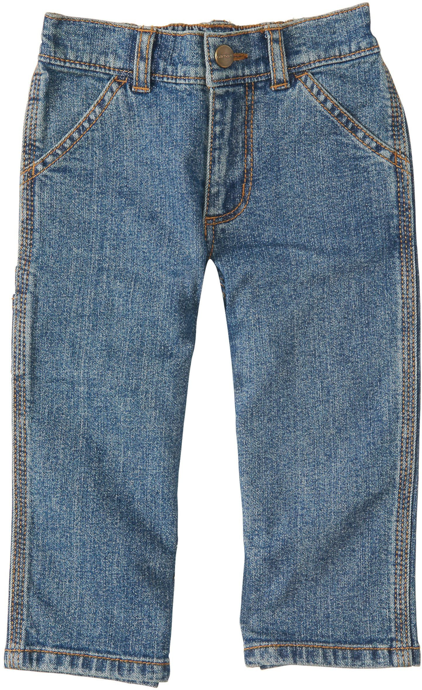 Промытые брюки-комбинезон & для малышей Carhartt