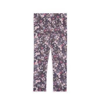 Комфортные леггинсы с цветочным принтом для маленьких девочек Imoga