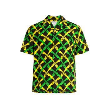 Рубашка с принтом Fantasia Bottega Veneta