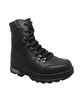 Мужская 6-дюймовая отражающая байкерская обувь AdTec
