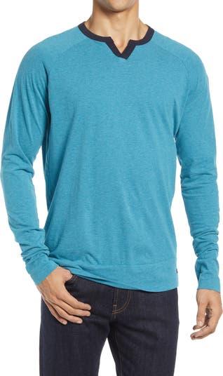 Мужская футболка Varsity с длинным рукавом и V-образным вырезом Good Man Brand